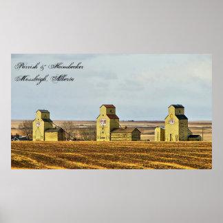 Poster La prairie veille sur l'affiche de Mossleigh