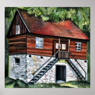 Poster La Roumanie - Chambre traditionnelle de