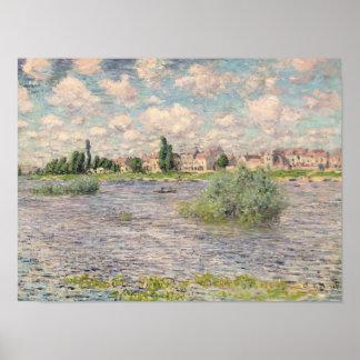 Poster La Seine chez Lavacourt