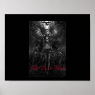 Poster La sorcière foncée