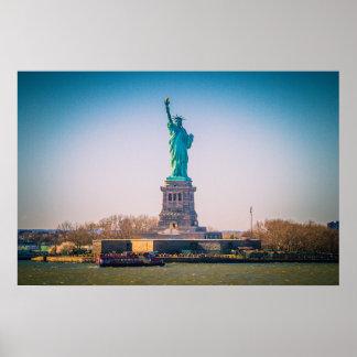 Poster La statue de la liberté