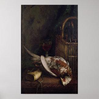 Poster La vie de Claude Monet | toujours avec un faisan,