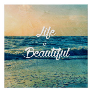 Poster La vie est belle