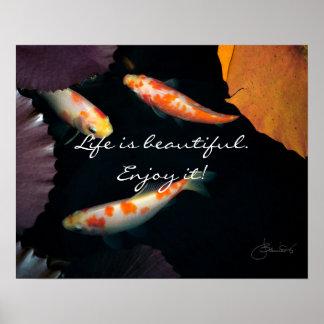 Poster La vie est belle l'apprécient