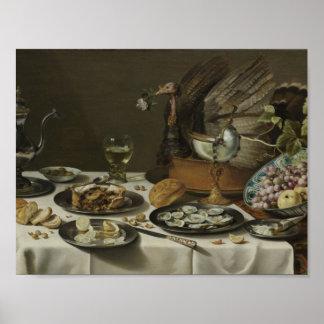 Poster La vie toujours avec un tarte de la Turquie,