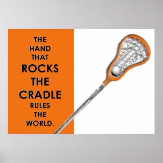 Poster Lacrosse de filles