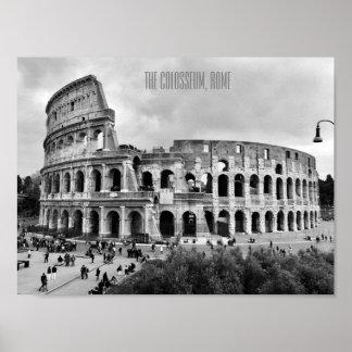 Poster L'affiche de Colosseum Rome