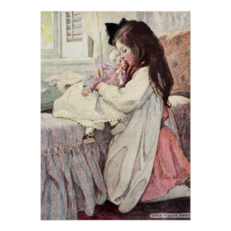 Poster L'amant par Jessie Willcox Smith