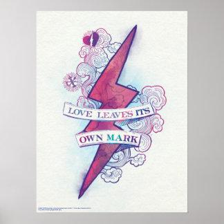 Poster L'amour du charme | de Harry Potter laisse sa