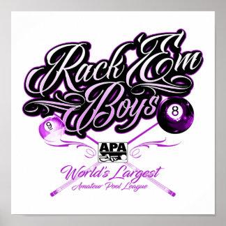 Poster L'APA les étirent des garçons