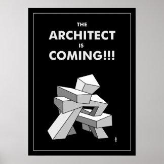 Poster L'architecte vient