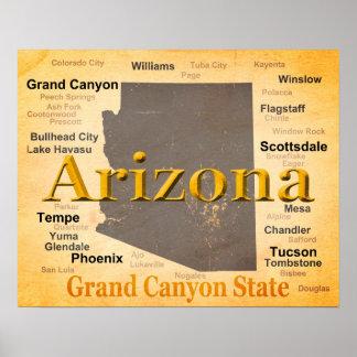 Poster L'Arizona a vieilli la carte
