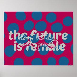 Poster L'avenir est (arrêt tuant nos filles) affiche
