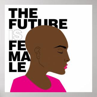Poster L'avenir est femelle