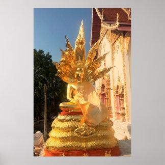 Poster Le Bodhisattva et 7 ont dirigé le Naga