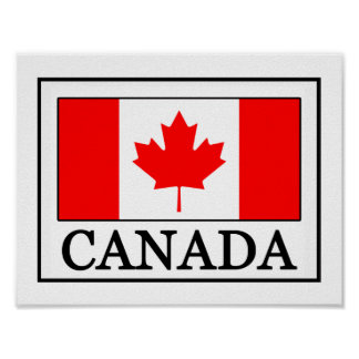 Poster Le Canada