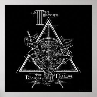 Poster Le charme | de Harry Potter DE MORT SANCTIFIE le