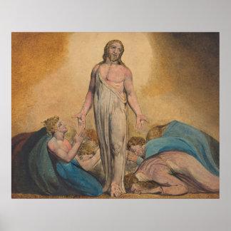 Poster Le Christ apparaissant aux disciples après