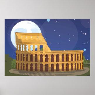 Poster Le Colosseum de Rome