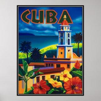 Poster Le Cuba vintage -