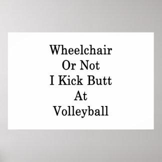Poster Le fauteuil roulant ou pas moi donnent un coup de