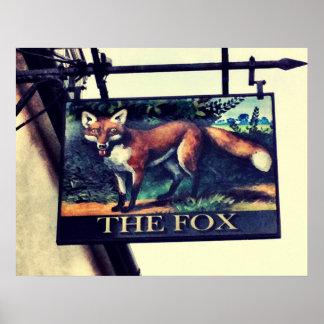 Poster Le Fox