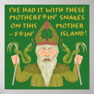 Poster Le jour drôle de Patrick de saint serpente les