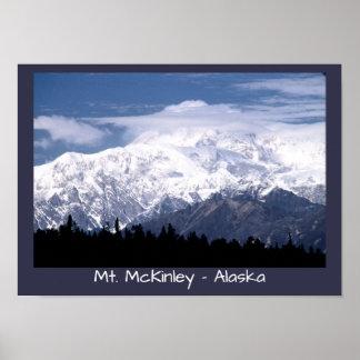 Poster Le mont McKinley, Alaska