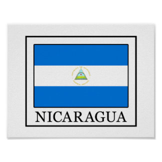 Poster Le Nicaragua