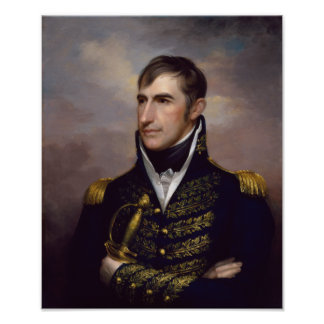 Poster Le Président William Henry Harrison