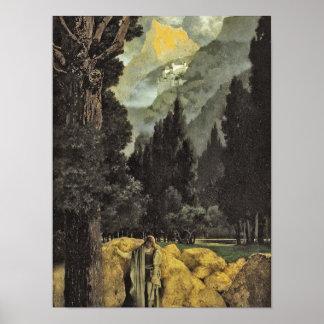 Poster Le rêve du poète