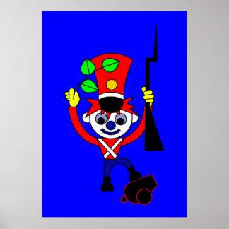 Poster Le soldat de pays