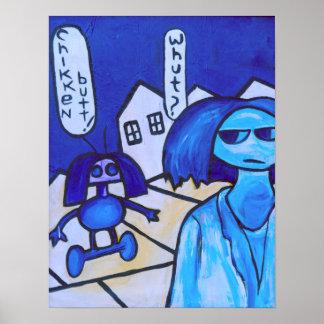Poster Le soulèvement de robot