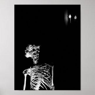 Poster Le squelette d'Elephant Man