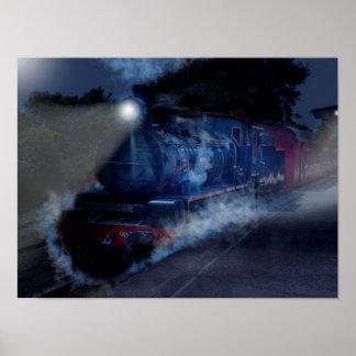 Poster Le train de nuit