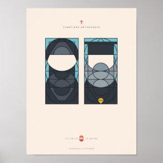 Poster Le Voile et la Barbe - Chrétiens Orthodoxes