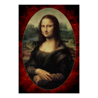 Poster Leonardo da Vinci - Mona Lisa