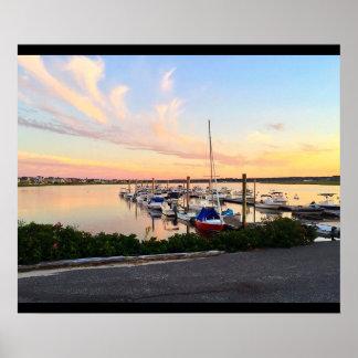 Poster Les bateaux du Maine ont accouplé l'affiche