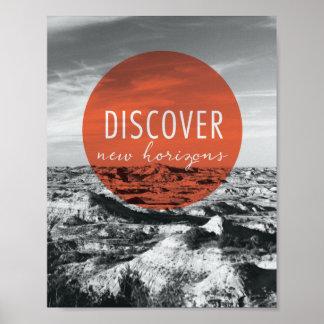 Poster Les canyons   découvrent la citation de New