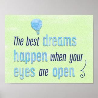Poster Les meilleurs rêves