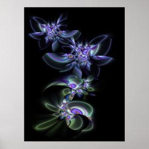 Poster Les violettes sont bleues