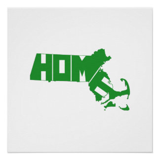 Poster L'État d'origine du Massachusetts