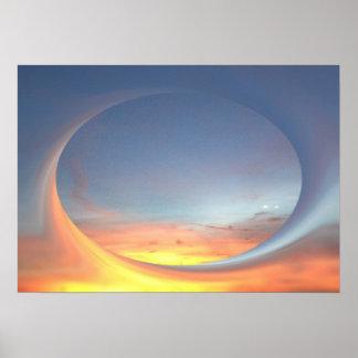 Poster Lever de soleil
