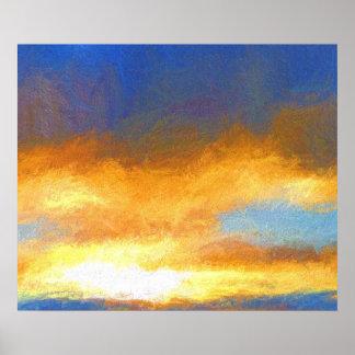 Poster Lever de soleil #1
