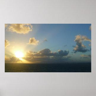 Poster Lever de soleil au-dessus de San Juan II Porto
