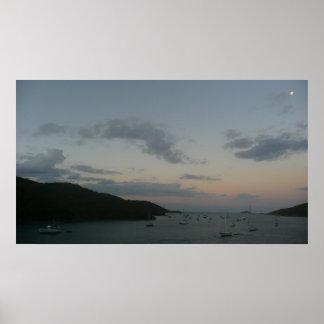 Poster Lever de soleil en Îles Vierges américaines de St