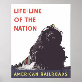 Poster Ligne de sauvetage de la nation 1941