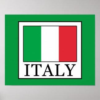 Poster L'Italie