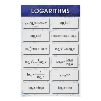 Poster Logarithmes