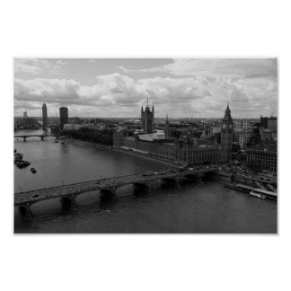 Poster Londres Big Ben